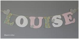 Guirlande murale *A personnaliser* Modèle LOUISE.B