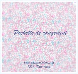 Pochette de rangement pour lit à barreaux Liste Anne et Pascal BEAUSSOUBRE