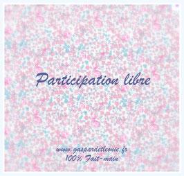 Participation libre Liste de naissance Anne et Pascal BEAUSSOUBRE