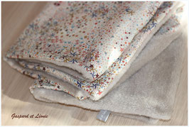 Couverture Liberty Adelajda New Multicolore et Polaire