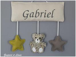 Plaque de porte ou Murale MODELE GABRIEL-B