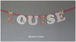 Guirlande murale *A personnaliser* Modèle LOUISE.A
