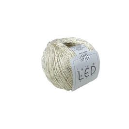 LED CON MICROPAILLETTES - 50 AVORIO