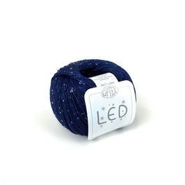 LED CON MICROPAILLETTES - 63 NAVY BLUE