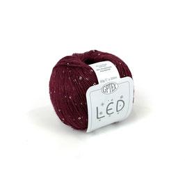 LED CON MICROPAILLETTES - 72 BORDEAUX