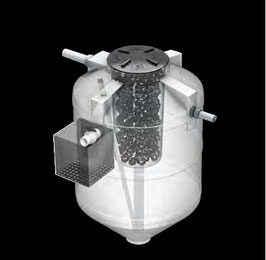 Biodigestor 850 litros.
