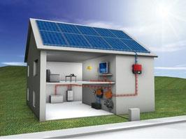 Equipo OFF GRID de 2 KW de potencia (para lugares sin acceso a la red eléctrica)