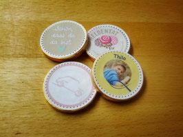 Individualisierte Schokomünzen (40 Stück)