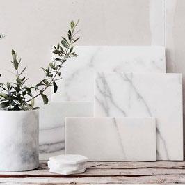 STONED Marble serveer-, snij- of decoratieplank