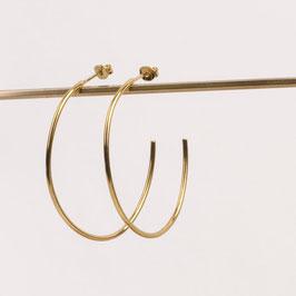 Charlotte Wooning Earrings Big Hoop