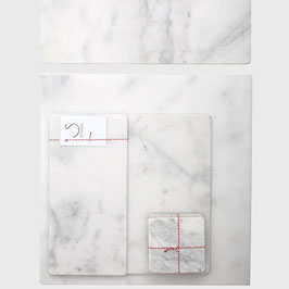 White Marble serveer-, snij- of decoratieplank