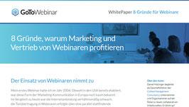 White Paper: 8 Gründe für Webinare