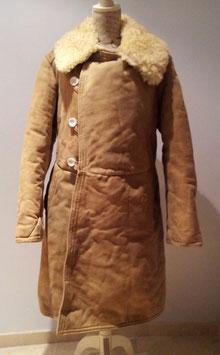 Abrigo ruso de piel. WWII.