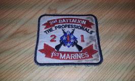 Parche batallón de infantería cuerpo de marines. Vietnam.