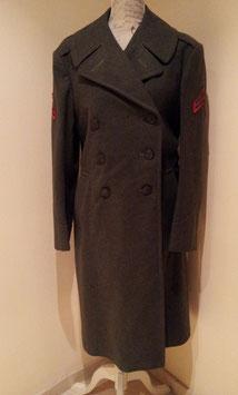 Abrigo de lana USMC. WWII.