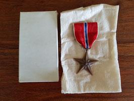 Estrella de bronce. WWII.
