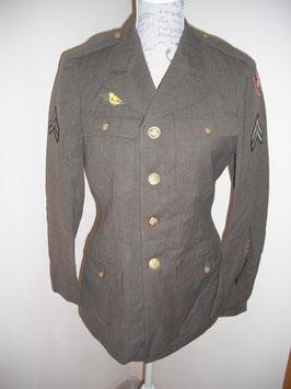 Chaqueta 4 bolsillos 4th Army. WWII.