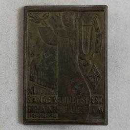 'XI. Deutsches Sängerbundesfest, Frankfurt am Main 21.-24 Juli 1932' - Tinnie