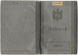 Wehrmacht - 'Wehrpaß' & oorkonde