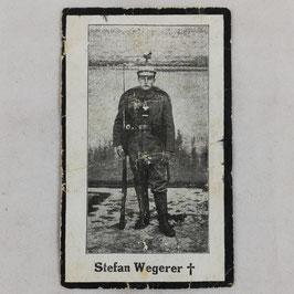 Deathcard of 'Stefan Wegerer'