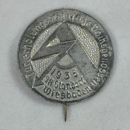'SA - Für erholungsbedürftige Volksgenossen SA Standort Wiesbaden 1935' Tinnie