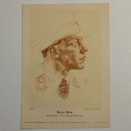 Print of Wolf Willrich - Major Wick 1941