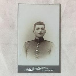 CDV Duits soldaat - Neuburg a. D.