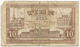 Noodgeld - Sinte Kathelijne Waver - 1917