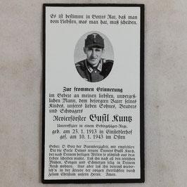 Doodsprentje van 'Gustl Runß'