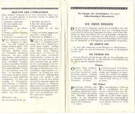 Gebedsblad - 1919