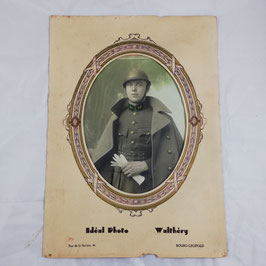 Photograph of belgian soldier