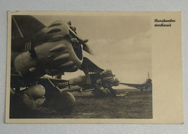 German postcard 'Heinkel-Jagdeinsitzer des Richthofengeschwaders'