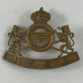 Belgian cap badge Royal Army Service Corps