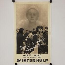 Affiche Winterhulp België