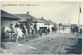 Camp d'Elsenborn - Artillerie - Départ pour le Tir