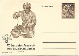 Winterhilfswerk des deutschen Volkes - November 1938/39