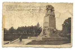 Graf van een Franschen Onbekenden Soldaat - Brussel-Laeken