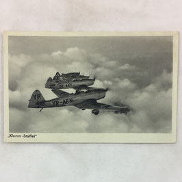 German postcard 'Klemm - Staffel'