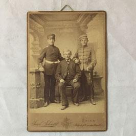 Duitse soldaten met vader - Trier