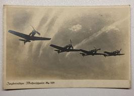 German postcard 'Jagdeinsitzer Messerschmitt Me 109'