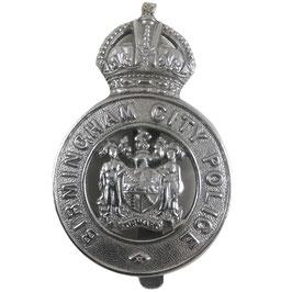 Britse politie - kenteken 'Birmingham City Police'