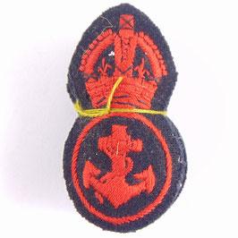British Army - Royal Navy - cap badges