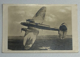 German postcard 'Unsere Luftwaffe - Heinkel-Kampfflugzeug HE111'