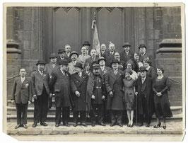 Groepsfoto Franse veteranen