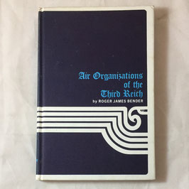 Air Organizations of the Third Reich Volume I