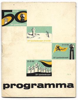 Programmaboekje - 39de Ijzerbedevaart - 1966