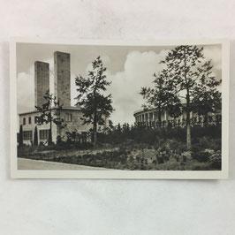 German postcard 'Reichssportfeld - Osttor mit Blick auf die Deutsche Kampfbahn'