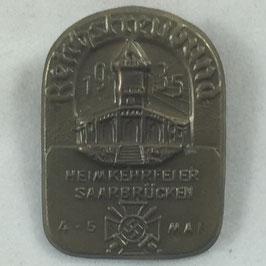 'Reichstreubund - Heimkehrfeier Saarbrücken 4./5. Mai 1935' Tinnie