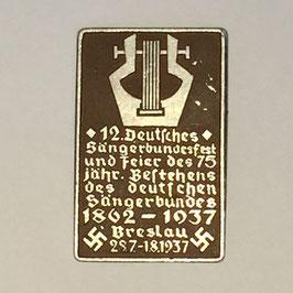 12. Deutsches Sängerbundesfest Breslau 1937 Tinnie I