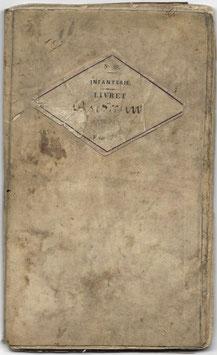 Belgisch leger - Militair zakboek - 1869